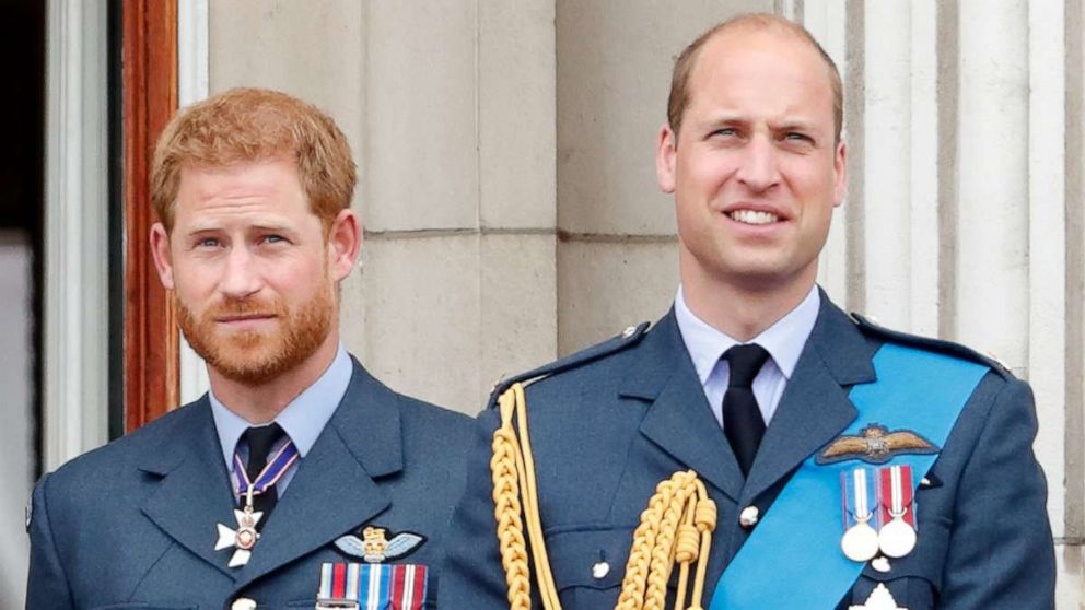 Princes William, Harry reportedly speak as family gathers to mourn Prince Philip
