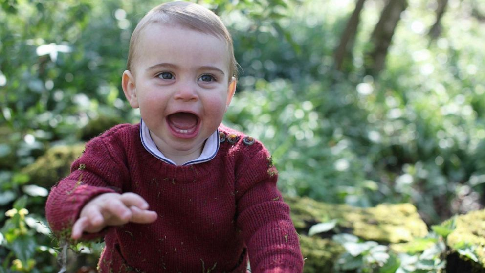 New photos of Prince Louis released ahead of his 1st birthday