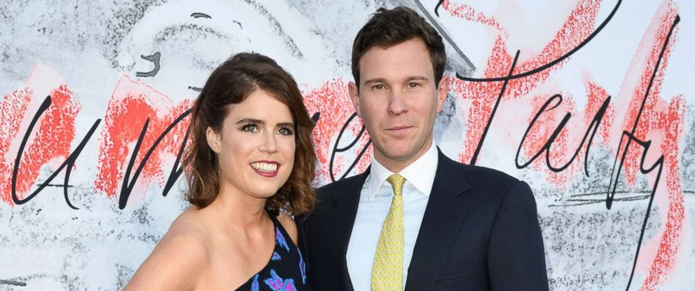 PHOTO: Princess Eugenie of York and Jack Brooksbank attend the Serpentine Gallery Summer Party at The Serpentine Gallery, June 19, 2018, in London.