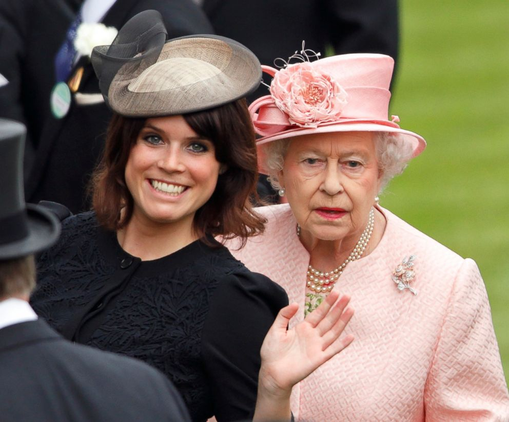 PHOTO: Princess Eugenie of York and Queen Elizabeth II attend Day 1 of Royal Ascot at Ascot Racecourse, June 18, 2013, in Ascot, England.