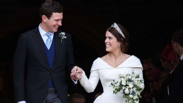 Image result for meghan markle prince harry princess eugenie wedding