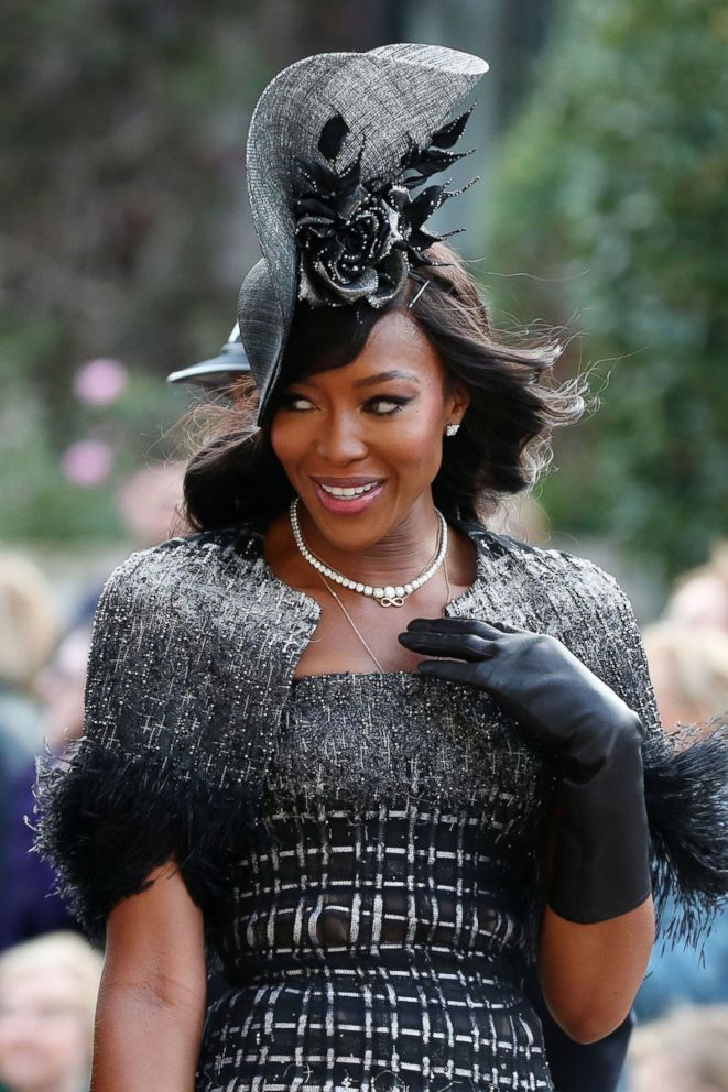 PHOTO: Naomi Campbell arrives at The wedding of Princess Eugenie and Jack Brooksbank, Windsor, Berkshire, Oct. 12, 2018.