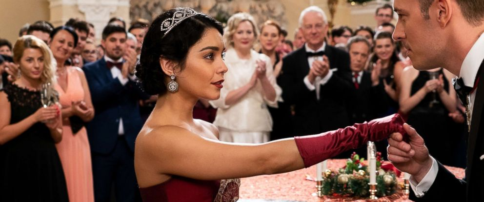 "PHOTO: Vanessa Hudgens stars in the 2018 Netflix film, ""The Princess Switch."""