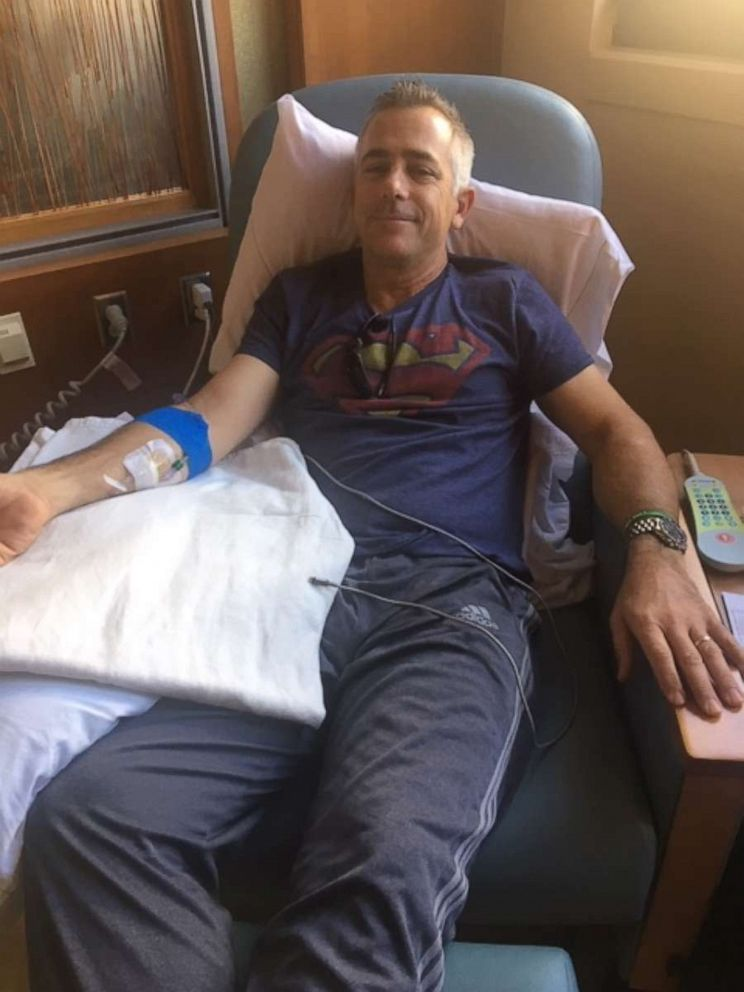 PHOTO: Jeff Sipos began chemo last August. Even though the side effects took a toll, he decided to return to school while taking precautions due to a weakened immune system.