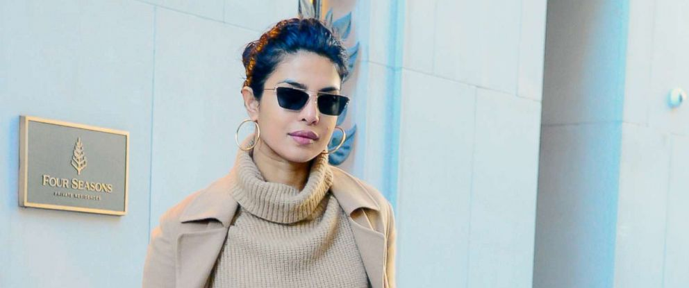 PHOTO: Actress Priyanka Chopra is seen walking in Soho, Oct. 30, 2018, in New York City.