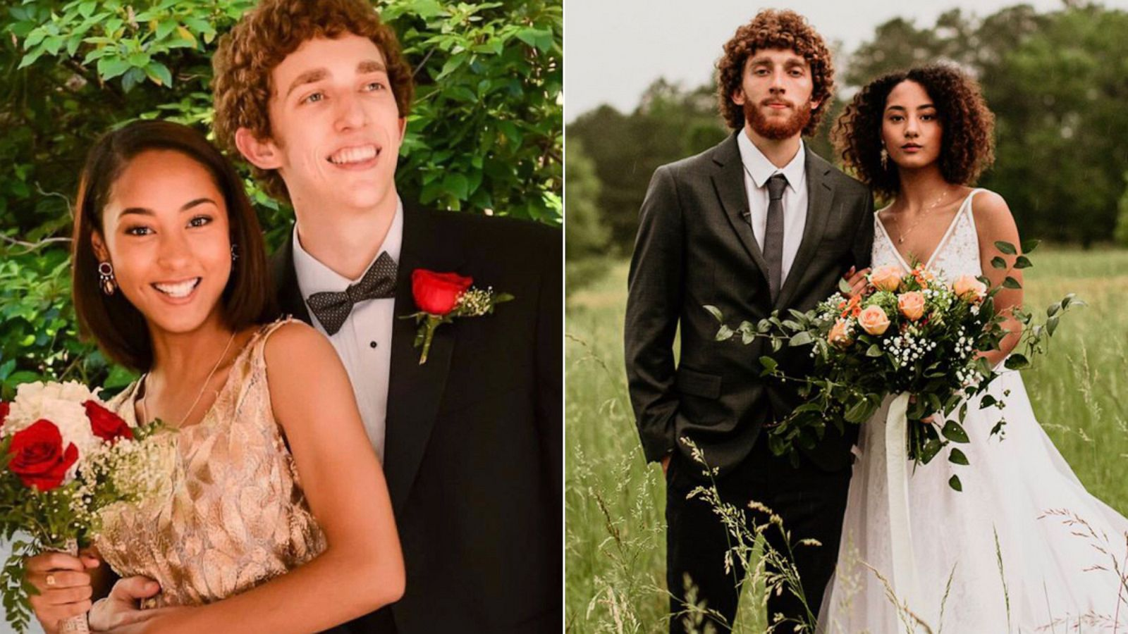 Sweethearts! How 17 couples transformed from their prom pics
