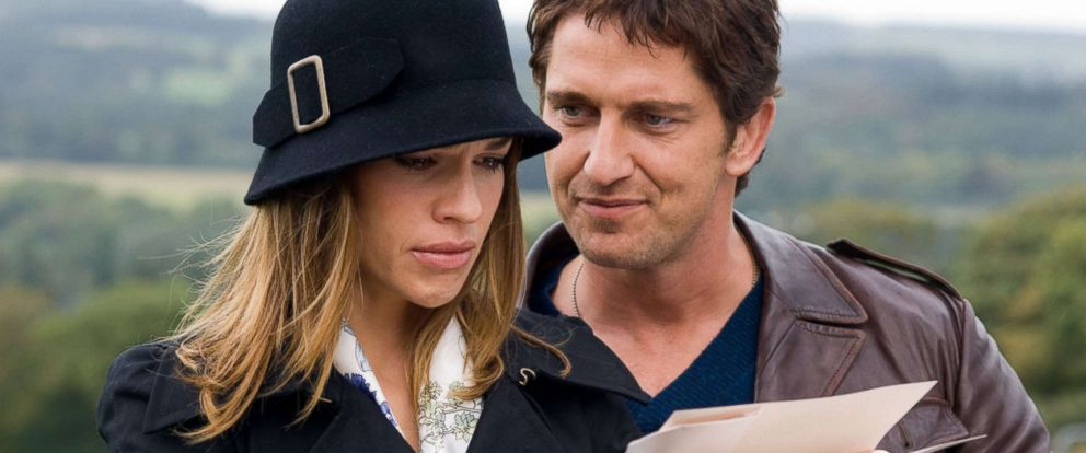"""PHOTO: Hilary Swank and Gerard Butler star in the 2007 film adaptation of, """"P.S. I Love You."""""""