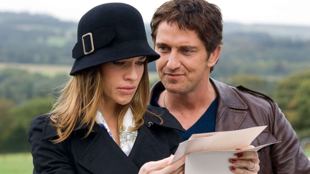 """Hilary Swank and Gerard Butler star in the 2007 film adaptation of, """"P.S. I Love You."""""""