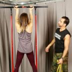 """Good Morning America's"" Ginger Zee challenges herself to do the perfect pull-up in the new year."