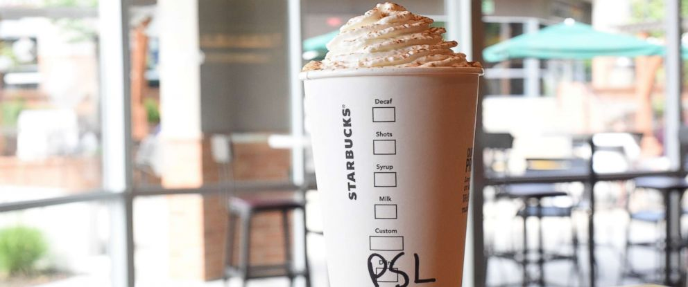 PHOTO: Pumpkin Spice Lattes are back by popular demand at Starbucks for the 15th consecutive year.