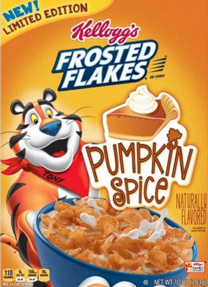 PHOTO: Frosted Flakes Pumpkin Spice Breakfast Cereal.