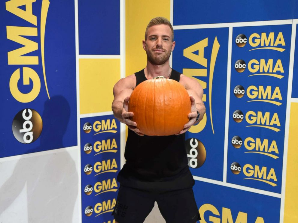 PHOTO: The Jack-O-lantern swing strengthens the core, back and shoulder muscles.