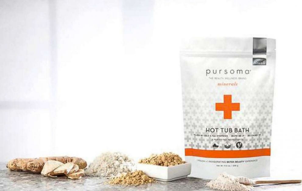 PURSOMA products are pictured here.
