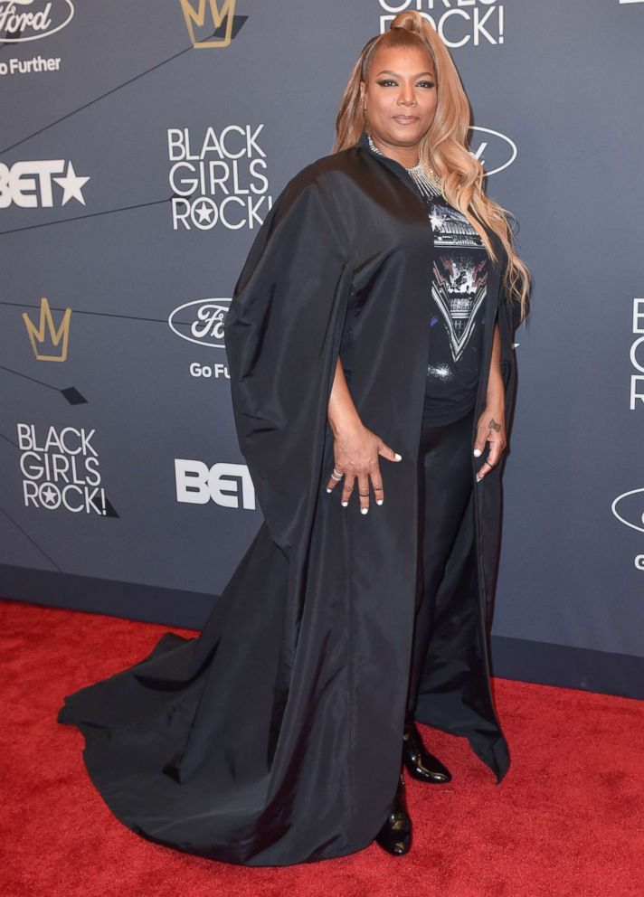 PHOTO: Singer/Actress Queen Latifah attends the Black Girls Rock! Red Carpet at the New Jersey Performing Arts Center, Aug. 26, 2018, in Newark, N.J.