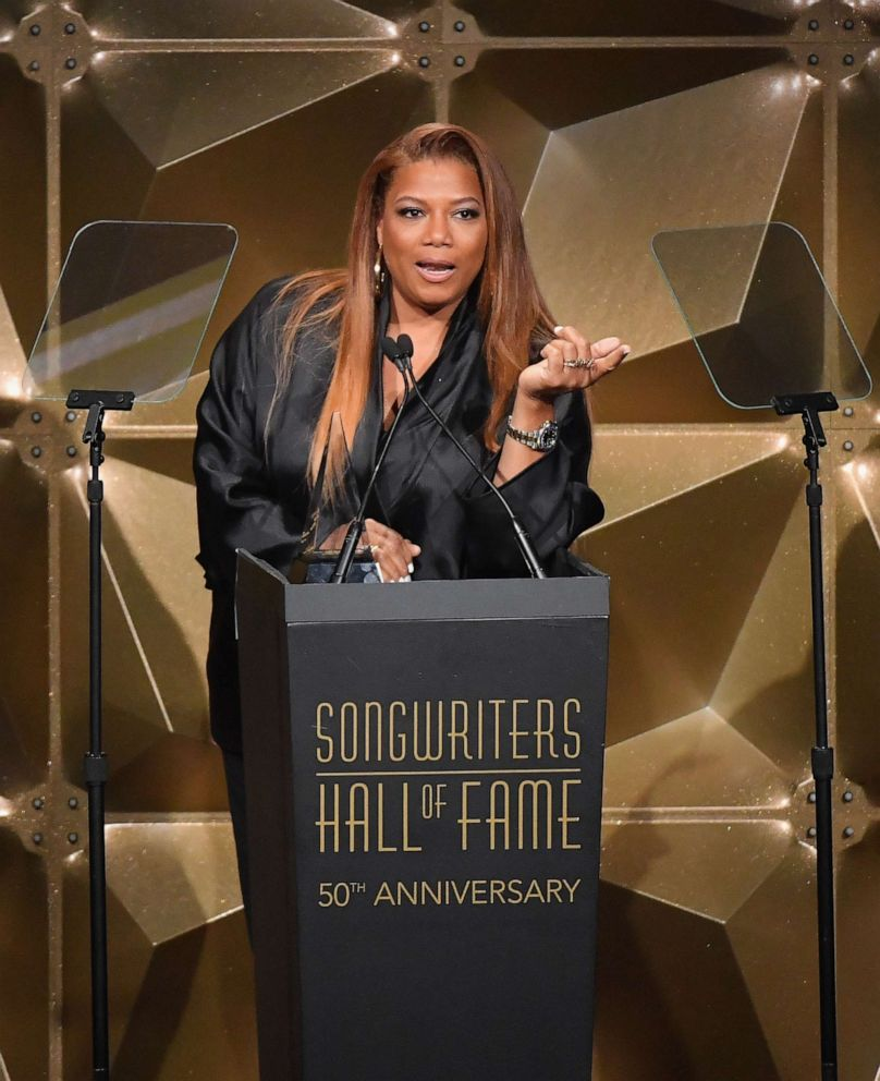 PHOTO: Rapper Queen Latifah performs onstage during the 2019 Songwriters Hall Of Fame Gala at The New York Marriott Marquis, June 13, 2019, in N.Y.