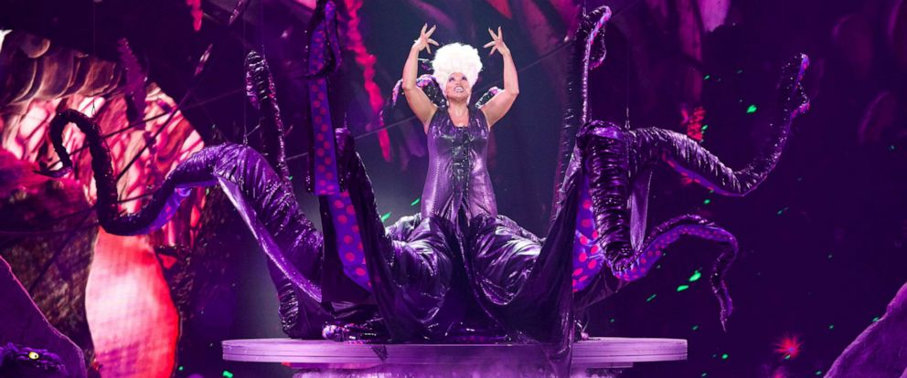 "PHOTO: Queen Latifah, as Ursula, performs in the spectacular, live musical event showcasing ""The Little Mermaid"" on ABC."