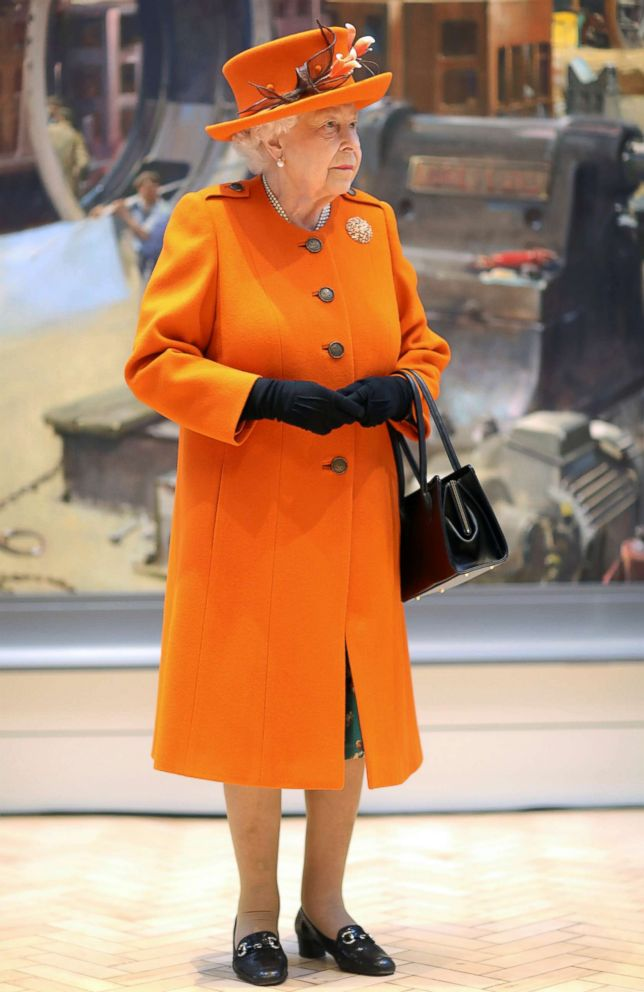 Britain's Queen Elizabeth visits the Science Museum in London, March 7, 2019.