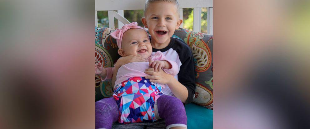 PHOTO: Quinn Harper and Zac Harper.