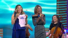 PHOTO: Rachel Platten revealed her babys sex on Good Morning America Oct. 19, 2018.