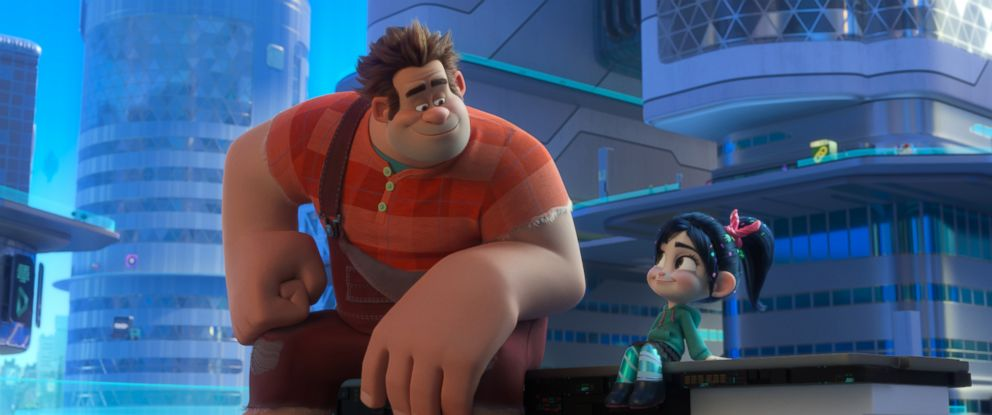 """A scene from the animated movie """"Ralph Breaks the Internet."""""""