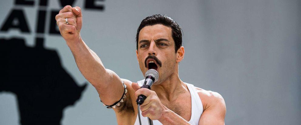 "PHOTO: Rami Malek stars as Freddie Mercury in ""Bohemian Rhapsody."""