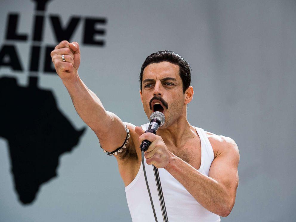 PHOTO: Rami Malek stars as Freddie Mercury in Bohemian Rhapsody.