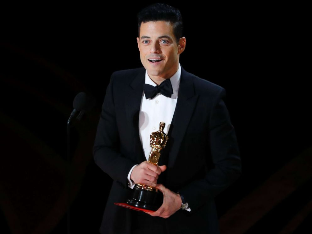 PHOTO: Rami Malek accepts the best actor award for his role in Bohemian Rhapsody, at the 91st Academy Awards, Feb. 24, 2019.