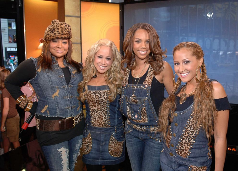 PHOTO: Raven-Symone performs as part of The Cheetah Girls on Good Morning America in 2006.