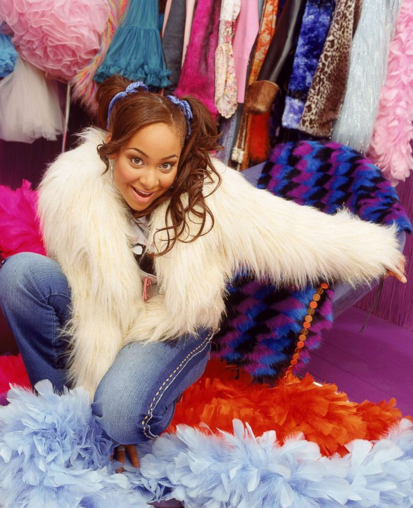 PHOTO: Teenage Raven Symone took Disney Channel by storm as the starring role in Thats So Raven.