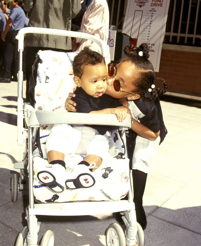 PHOTO: In this file photo, Raven Symone and her brother Blaize Pearman during Helping Hands Event at Ronald McDonald House, July 22, 1992, at Ronald McDonald House in New York City.