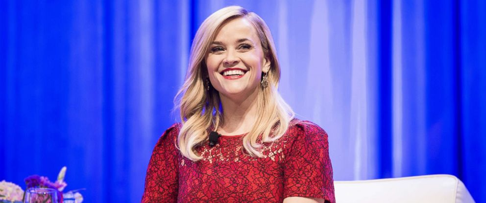 PHOTO: Reese Witherspoon speaks at an event in Austin, Texas, Nov. 9, 2018.