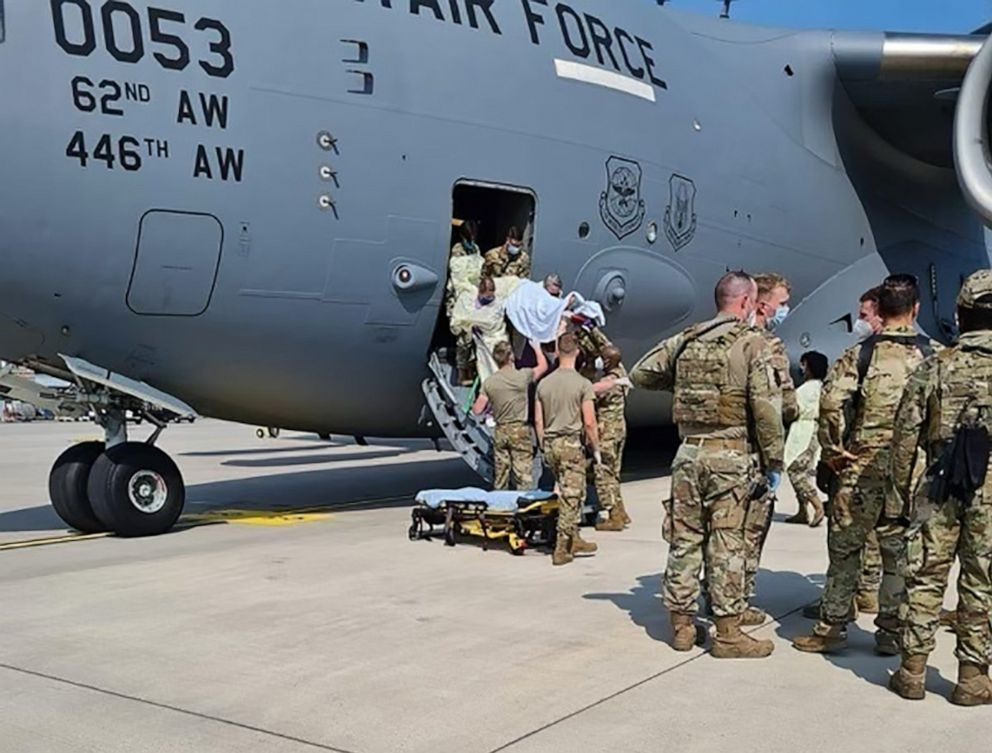 Afghan Family Names Baby Girl After U.S. Military Evacuation Plane She Was Born On