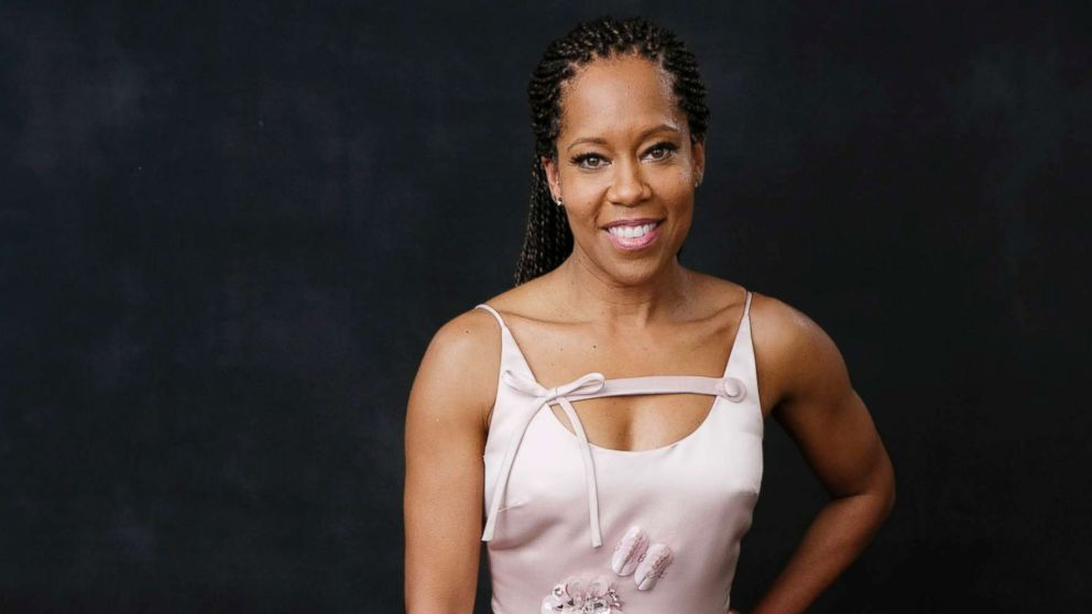 Regina King poses for a portrait at the 91st Academy Awards Nominees Luncheon at The Beverly Hilton Hotel, Feb. 4, 2019, in Beverly Hills, Calif.