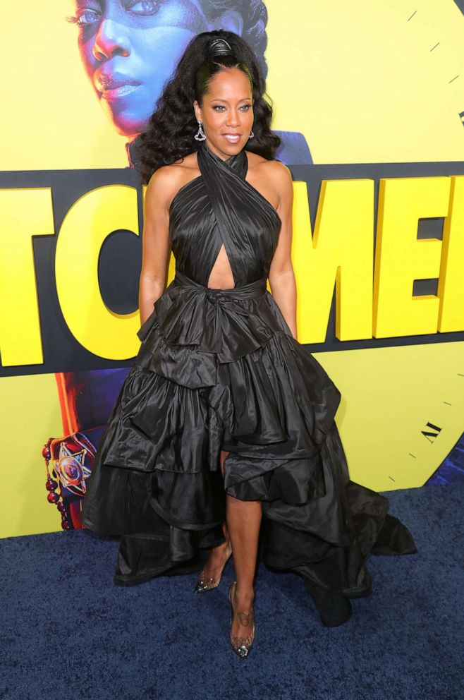 PHOTO: Regina King attends Premiere Of HBOs Watchmen at The Cinerama Dome on October 14, 2019, in Los Angeles.