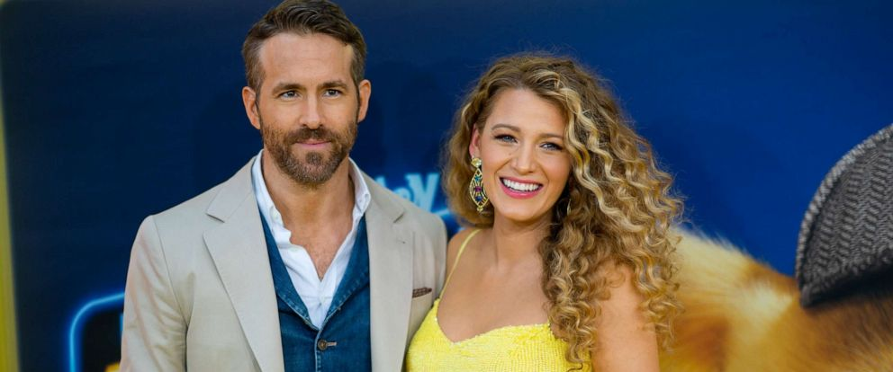 PHOTO: NEW YORK, NEW YORK - MAY 02: Blake Lively and Ryan Reynolds attend the Pokemon Detective Pikachu U.S. Premiere at Times Square on May 02, 2019 in New York City. (Photo by Michael Stewart/FilmMagic)