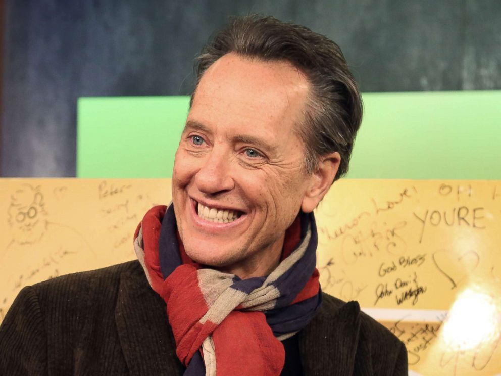PHOTO: Richard E. Grant appears on Popcorn with Peter Travers at ABC News studios, Nov. 27, 2018, in New York.