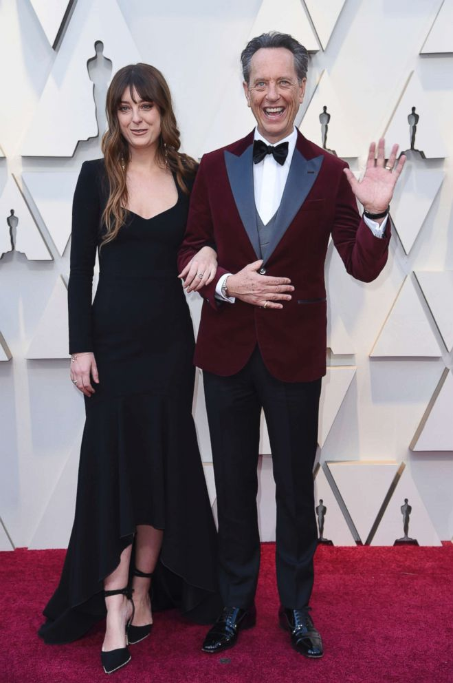 PHOTO: Olivia Grant and Richard E. Grant arrive at the Oscars, Feb. 24, 2019, at the Dolby Theatre in Los Angeles.