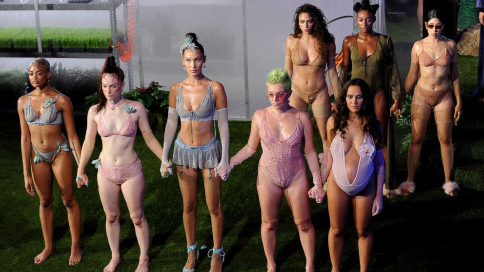 d3d2a478d29de Why Rihanna had models of all sizes in her Fashion Week lingerie ...