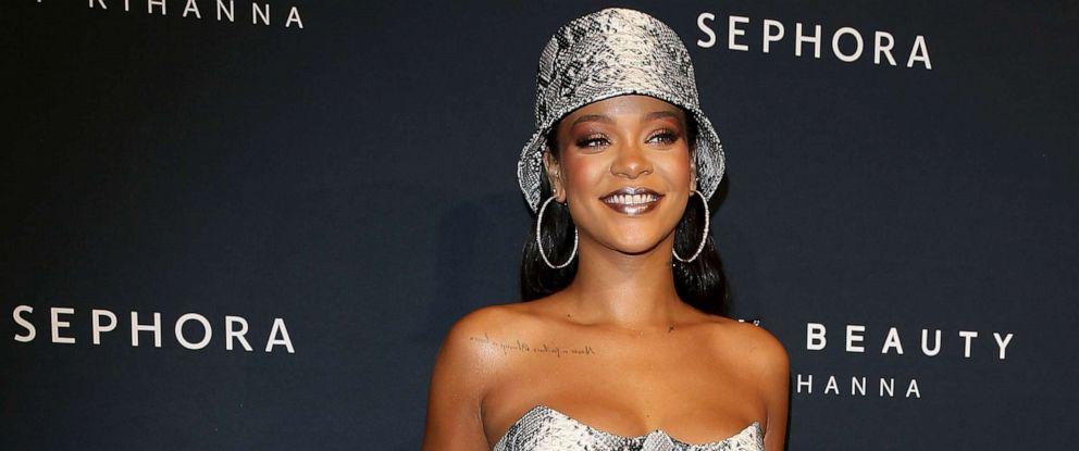 PHOTO: Rihanna attends the Fenty Beauty by Rihanna Anniversary Event at Overseas Passenger Terminal, Oct. 3, 2018, in Sydney.