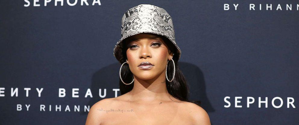 PHOTO: Rihanna attends the Fenty Beauty by Rihanna Anniversary Event on Oct 3, 2018, in Sydney.