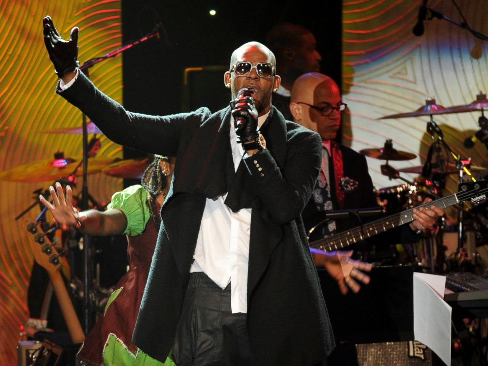 PHOTO: In this Jan. 25, 2014 file photo, recording artist R. Kelly performs at The 56th Annual Grammy Awards Salute to Industry Icons with Clive Davis in Beverly Hills, Calif.