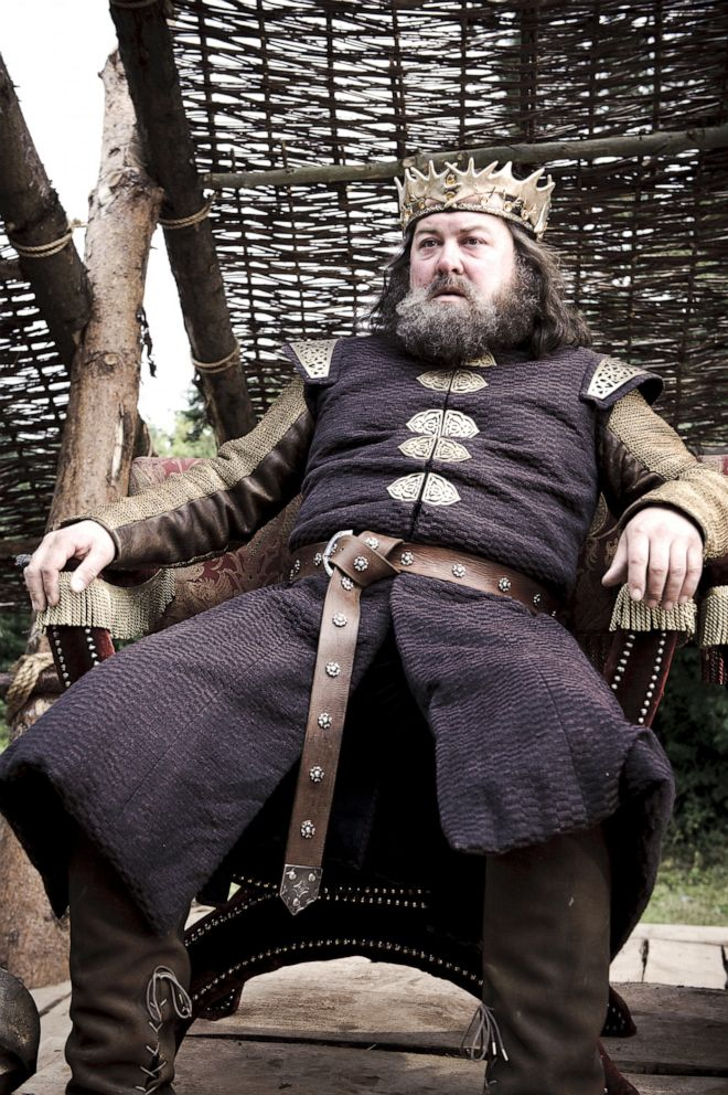 Mark Addy, as Robert Baratheon, in a scene from 'Game of Thrones.'