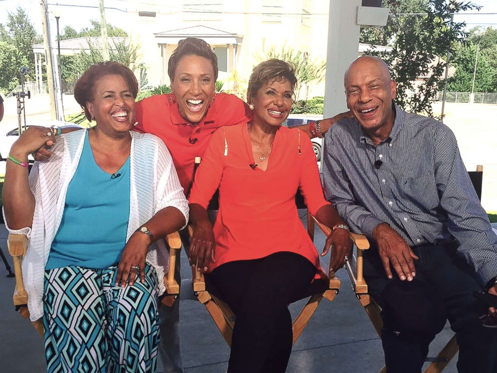 PHOTO: ABC News Robin Roberts (middle) is raising awareness for bone marrow donations after she received a life-saving transplant.