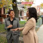 """Former first lady Michelle Obama speaks to ABC News' Robin Roberts for a prime-time ABC special on her memoir, """"Becoming."""""""