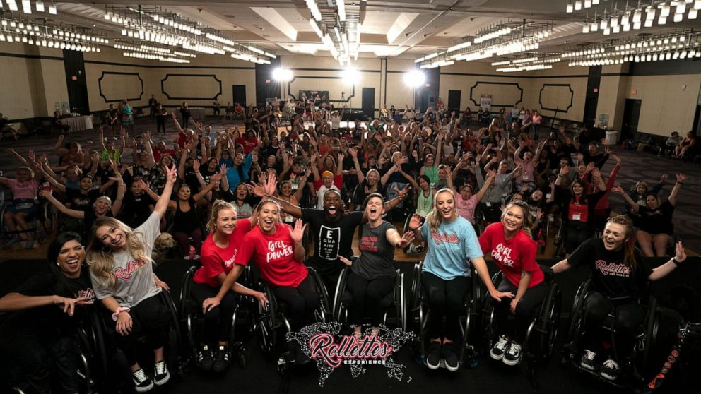 The Rollettes, a wheelchair dance team, make connections way bigger than dance