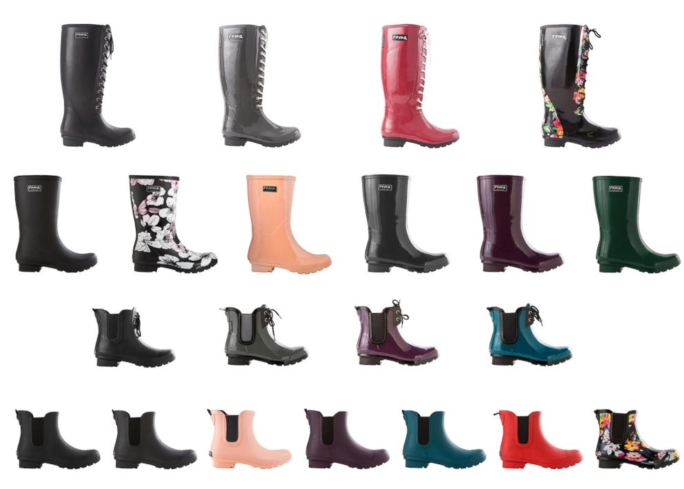 PHOTO: ROMA Boots products are pictured here.