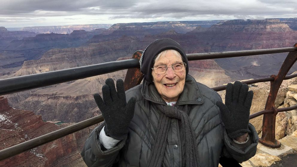 103-year-old sworn in as junior ranger at Grand Canyon National Park
