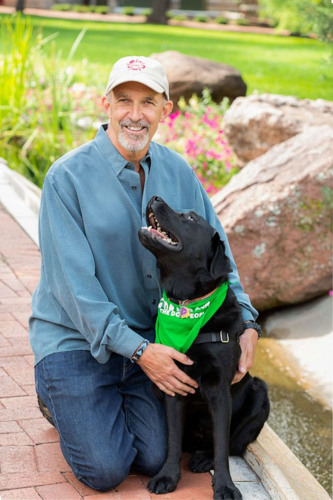 PHOTO: Phil Tedeschis work as a human & animal behavioral researcher is breaking barriers.