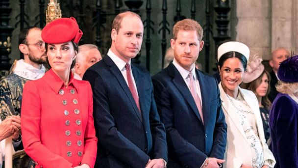 Prince William, Prince Harry, Duchesses Kate and Meghan come together for cause