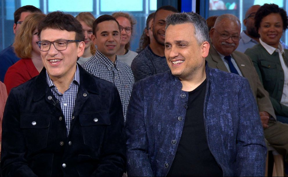 PHOTO: Anthony and Joe Russo appear on Good Morning America, May 2, 2019.